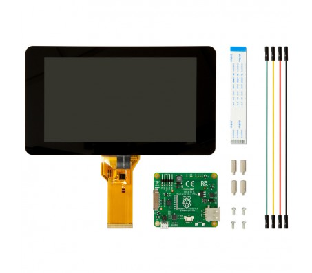 """Raspberry Pi 7"""" Touch Screen Display with 10 Finger Capacitive Touch"""