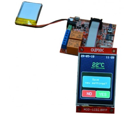 LCD Display for ESP32-EVB 320x240 With Touch Screen