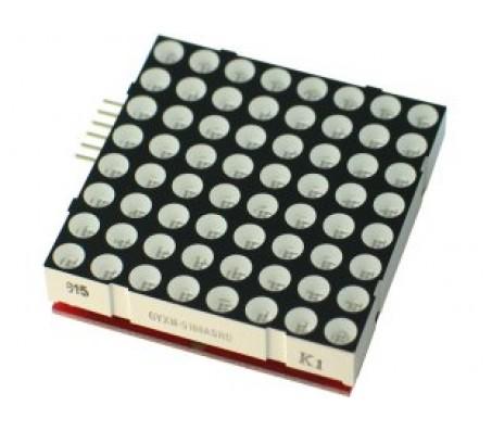 Stackable LED 8x8 Matrix for MSP430-LED8x8