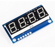4-Digit Serial LED Display - YELLOW Digit
