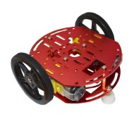 Mini 2WD Robot Chassis Kit with DC Motors
