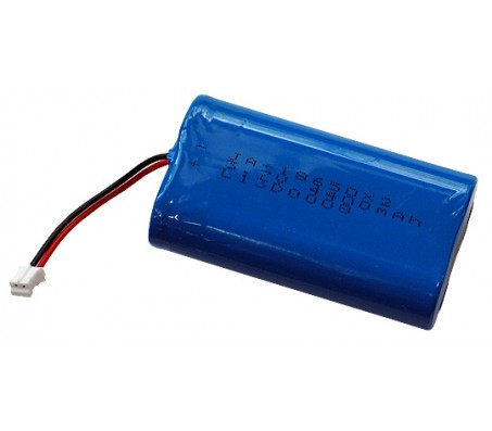 Rechargable LI-PO battery 3.7V 4400mAh with JST connector