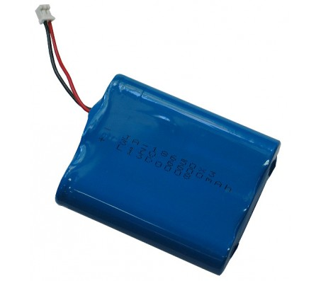 Rechargable LI-PO battery 3.7V 6600mAh with JST connector