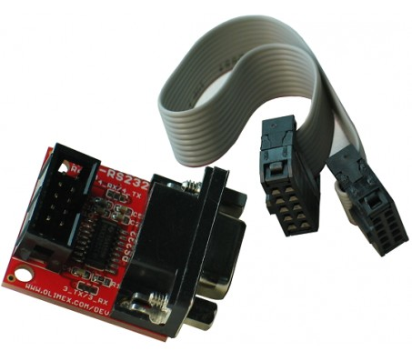 RS232 Level-Shifter with UEXT Connector
