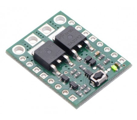 Big Pushbutton Power Switch with Reverse Voltage Protection, MP