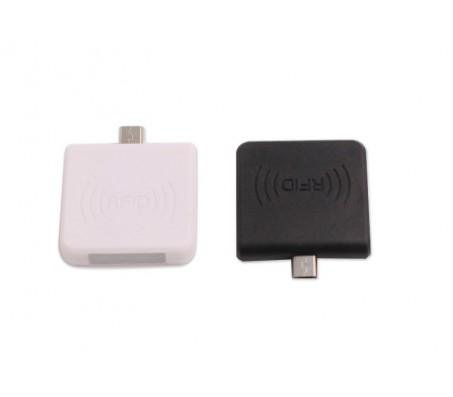 13.56 MHz RFID Micro USB Reader (NFC) - White