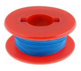 Wrapping Wire - AWG30 Solid Core - Blue 50m