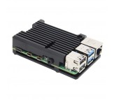 Raspberry Pi 4 - Aluminum Passive Cooling Case - Black