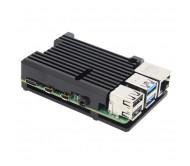 Raspberry Pi 4 - Aluminum Passive Cooling Case - Black