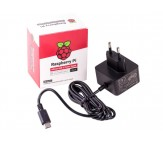 Raspberry Pi 4 Power Supply 5.1V 3A USB-C - Black
