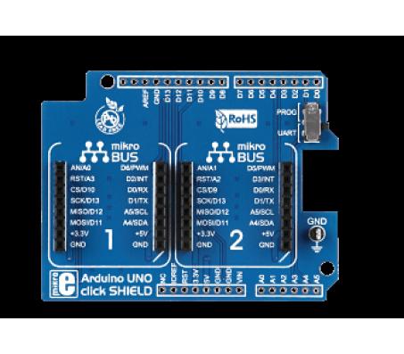 Arduino UNO Click Shield
