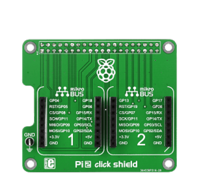 Pi 2 Click Shield