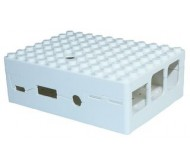 Pi-Blox Lego® Compatible Case for Raspberry Pi + Pi Camera - White