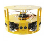 3WD 100mm Omni Wheel Mobile Robot Kit Round