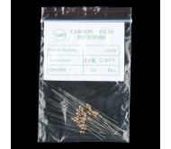 Resistor 1/4th Watt PTH - 20 Pack