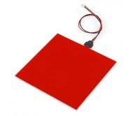 EL Panel - Red (10 x 10 cm)