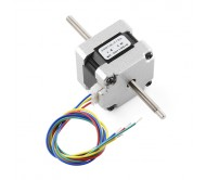 Stepper Motor - 29 oz.in (200 steps/rev, Threaded Shaft)