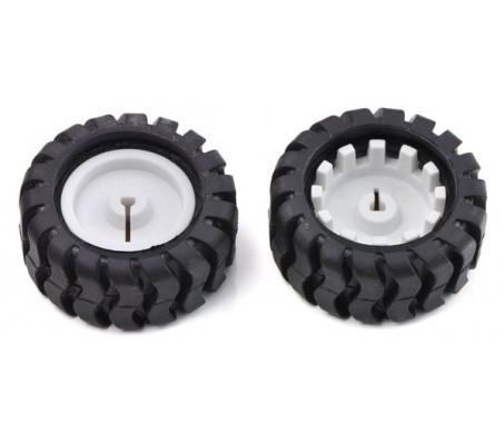 Wheel 42 x19mm (Pair)