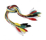 Alligator Test Leads - Multicolored 7 Pack