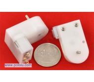 120:1 Mini Plastic Gearmotor Offset Output