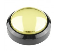 Big Dome Push Button - Yellow