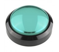 Big Dome Push Button - Green
