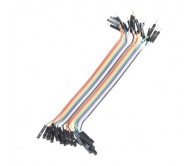 Jumper Wires - Connected 15cm (M/F, 20 pack)