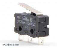 Mikrokytkin 250VAC - 3A / 125VAC - 5A