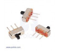 Mini Slide Switch: 3-Pin, SPDT, 0.3A (3-Pack)