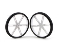 Pololu Wheel 90 x 10mm Pair - White