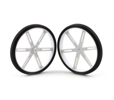 Pololu Wheel 90 x 10mm Pair - White