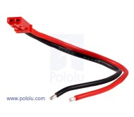 JST Plug with 10cm Leads, Female