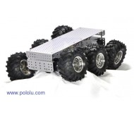 """Wild Thumper"" 6WD All-Terrain Chassis 75:1 Silver"