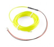 EL Wire - Fluorescent-Blue-Green 3m