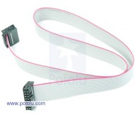 "16-Conductor Ribbon Cable with IDC Connectors 20"" (50 cm)"