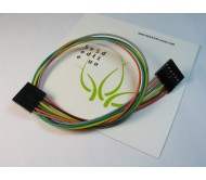 6 pin Dual-Female Jumper Wire - 30 cm