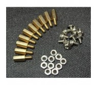 10 Sets M3 x 10 Hexagonal Standoffs Mounting Kit