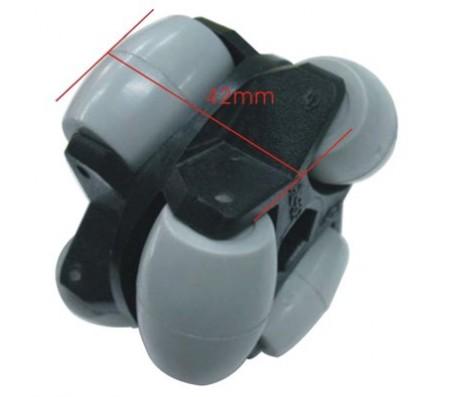 Dagu Omni Wheel - 60mm - Pair (with hub)