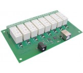 USB-RLY16 - 16Amp, 8 Channel Relay Module