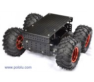 """Wild Thumper"" 4WD All-Terrain Chassis 75:1 Black"