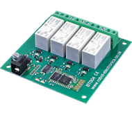 BT004 - 16Amp, 4 Channel Relay Module