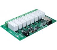 ETH008 - 16Amp, 8 Channel Relay Module