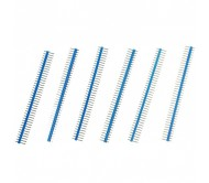 1 x 40 Pin Header - Straight (Blue)