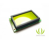 128x64 Parallel Graphic LCD (Blue and Yellow/Green)