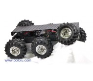 """Wild Thumper"" 6WD All-Terrain Chassis 75:1 Black"