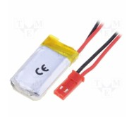 Polymer Lithium Ion Battery - 250 mAh with Cables