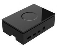 Raspberry Pi 4 Model B Case - Plastic, Black