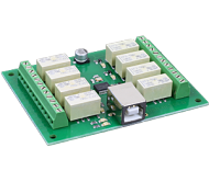 USB-RLY08-B - 8 Channel Relay Module