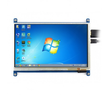 "7"" HDMI LCD - 1024×600 IPS With Touch"