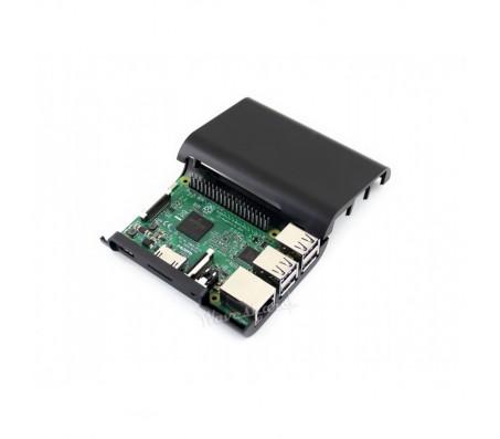 Raspberry Pi - Model 3 / 2 / B+ Enclosure (Black)
